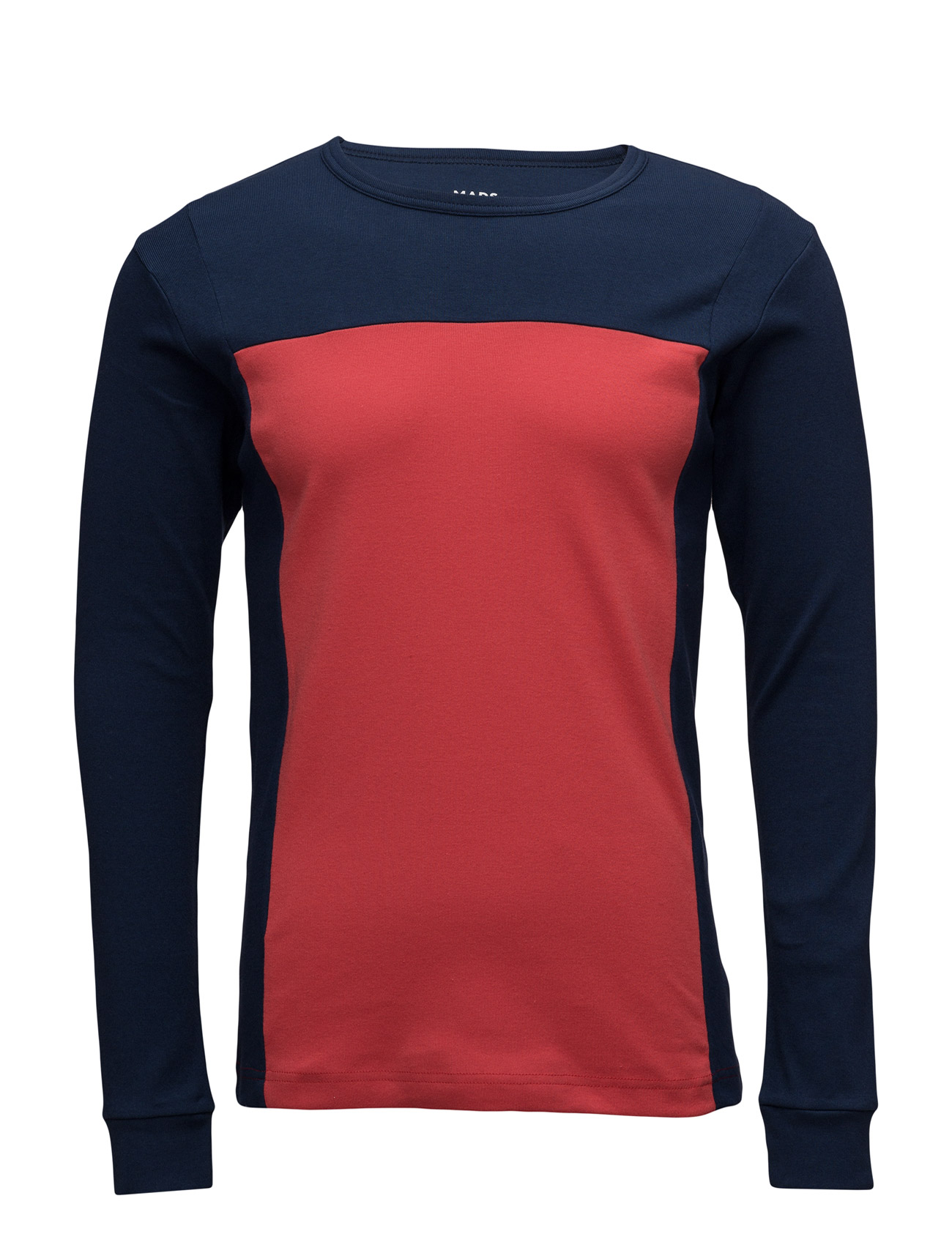 eebcb7650a3 Shop Cotton Rib Starling Block Mads Nørgaard T-shirts i til Mænd i en online  fashion store