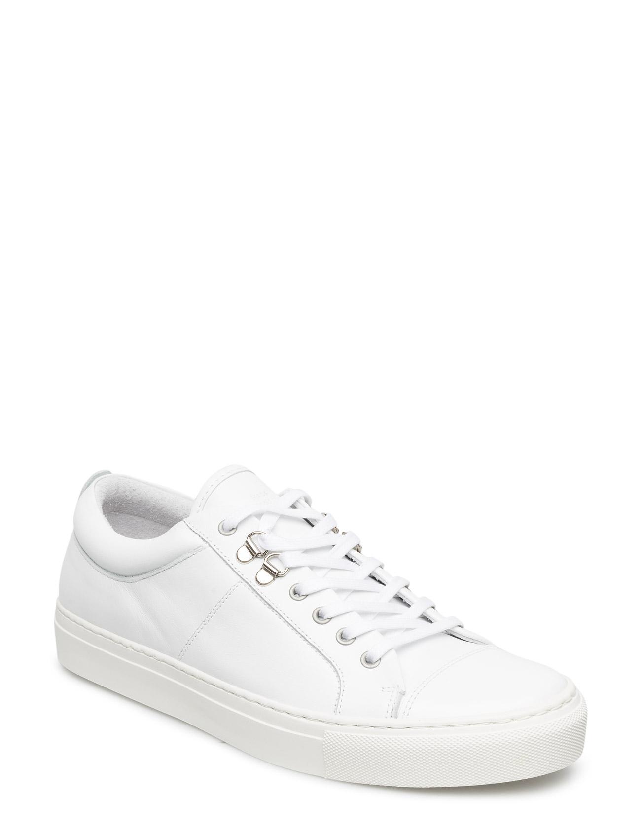 Leather Sneak Madson Mads Nørgaard Sneakers til Mænd i hvid