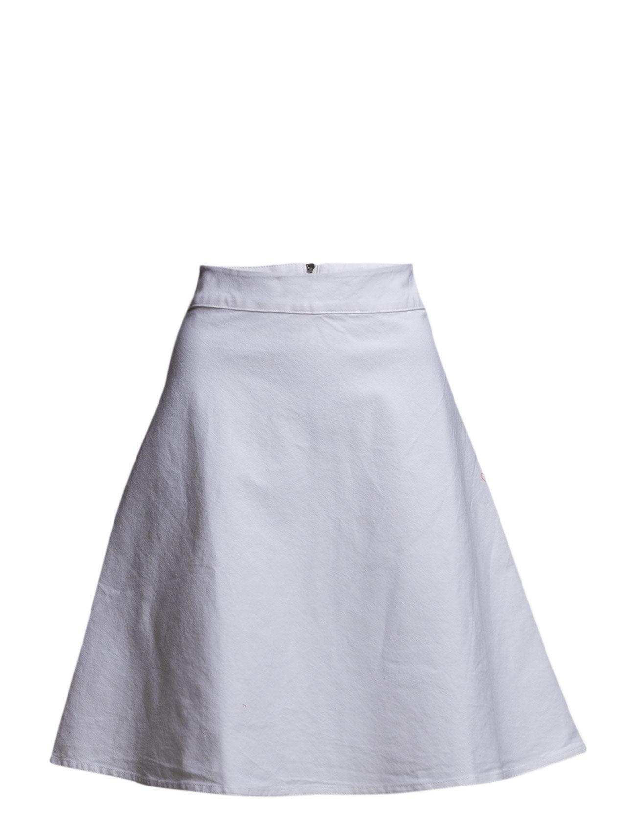 Denim Stelly Clean White