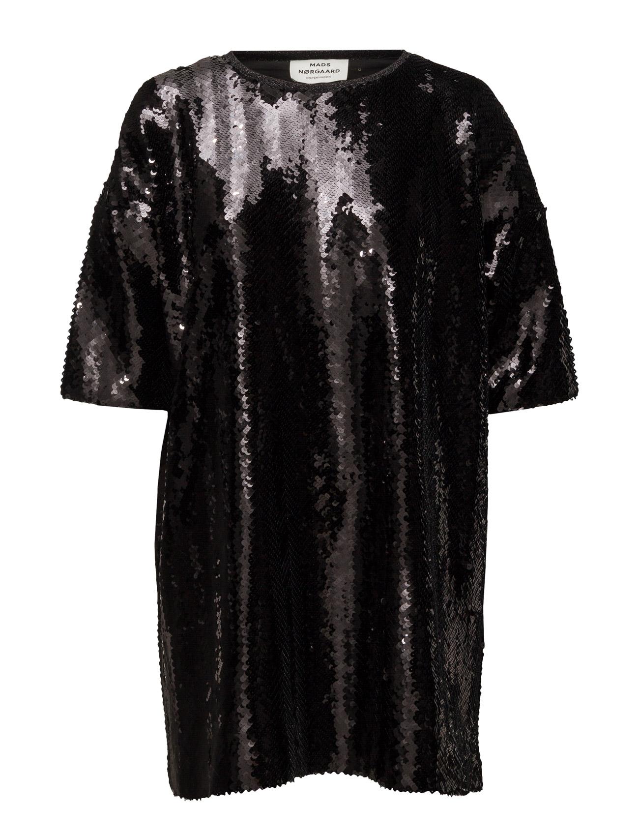 Sequency Doxa Mads Nørgaard Korte kjoler til Kvinder i Guld