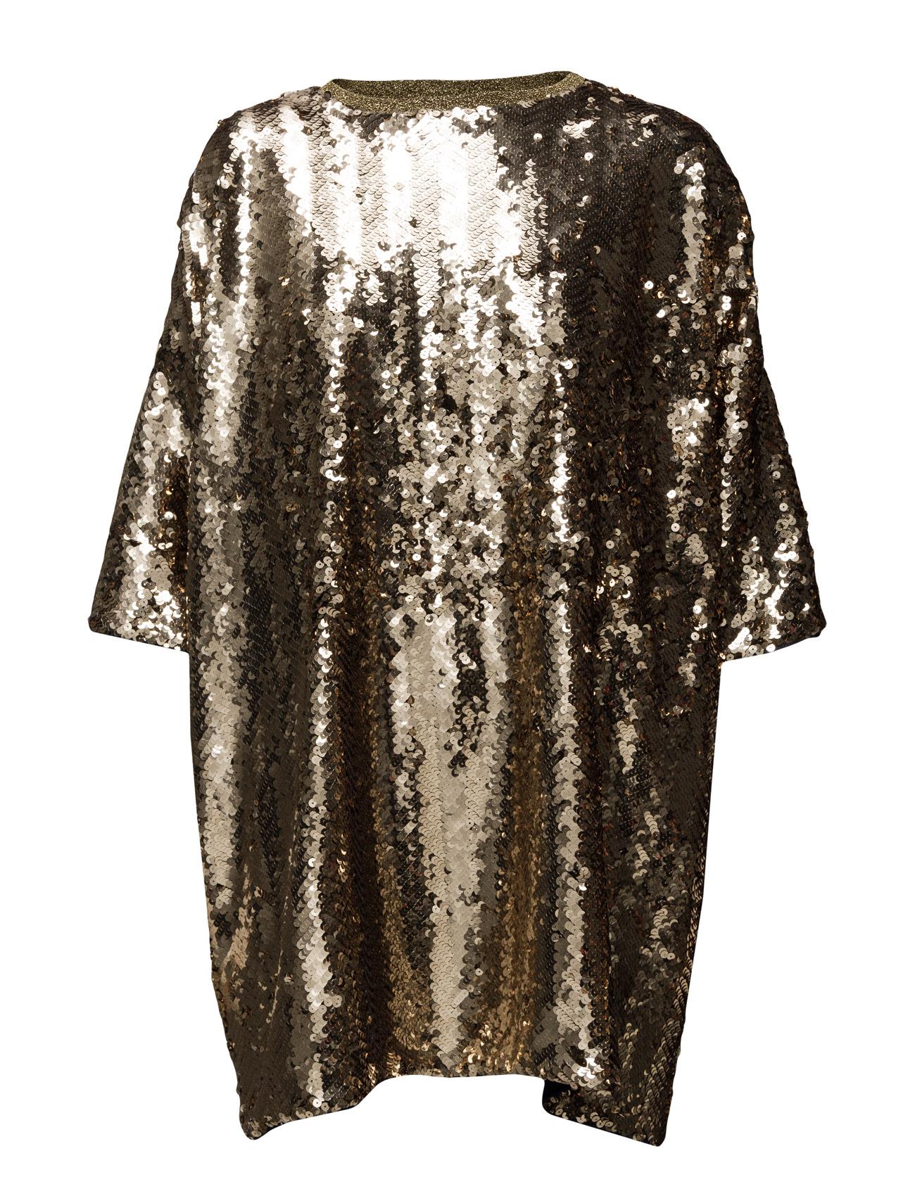 Sequency Doxa Mads Nørgaard Korte kjoler til Damer i Guld