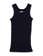 2x2 soft stripe Tukkino - Navy / Black