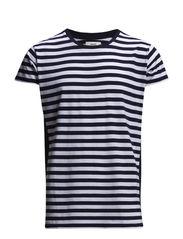 StripeBlock Tafa - Navy/White