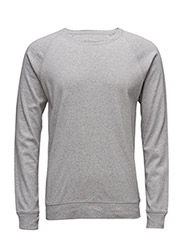Cotton Rib Stelt 16-3 - GREY MELANGE