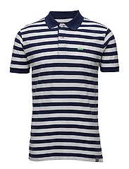 Striped Pique Tavid 17-1 - NAVY/WHITE