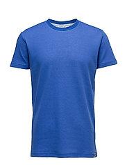 Doubleface Tek Short - LAPIS BLUE/WHITE