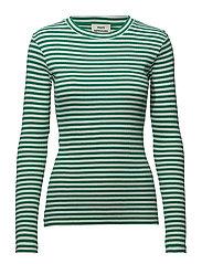 2x2 soft stripe Tuba - DEEP GREEN/WHITE