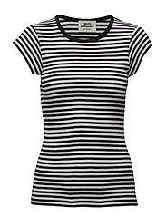 2x2 Soft stripe Trappy - BLACK/WHITE