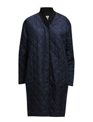 Quilted nylon lux Chiller - Navy