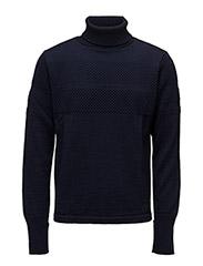 100% Wool Klemens - NAVY