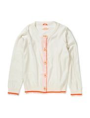 Comfi Cotton Carmino - Ecru/Neon Orange