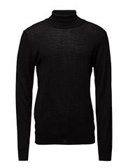 Fine Italian Knit  Kamp - Black