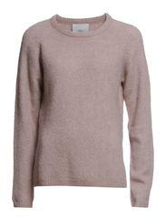 Butter knit Kalby - Rose Melange