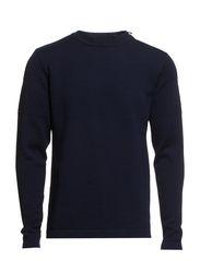 100% Wool Klap Zip - Navy