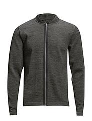 100% Wool Klemens Zap Solid - Charcoal Melange