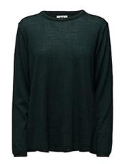 Merino wool Koze - Dark Green