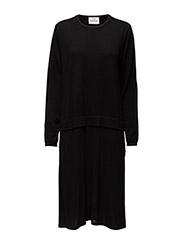 Merino wool Karoline - BLACK