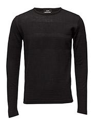 100% Light Wool Klap - BLACK