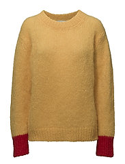 Bold mohair boutique Kranny r - YELLOW/RED
