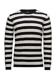Sola Kenny Stripe - BLACK/WHITE