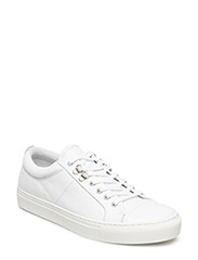 Leather Sneak Madson - WHITE