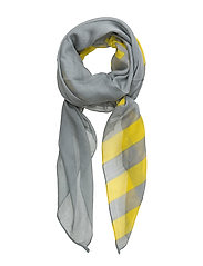 Mix Woven Atla Word - GREY MELANGE/YELLOW