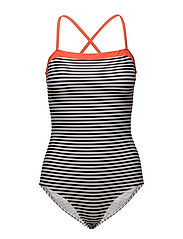 Vita Swimma - WHITE/BLACK/ORANGE