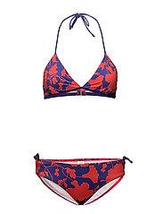 Liberty Swim Bikinna B - RED/BLUE LIBERTY