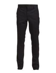 Wool Twill Party Galon - Navy/Black