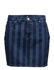 Striped Denim Safra P - DARK BLUE/BLUE