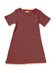 2X2 Soft Stripe Darling - Orange / Navy
