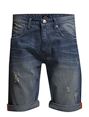 Denim Jagger Short Heavy St 15 - Heavy Stone Wash