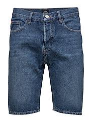 Denim Shorts Stonewash - STONEWASH