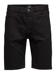 Denim Shorts Black Rinse - BLACK RINSE