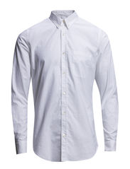 Stretch Oxford Spiel - White