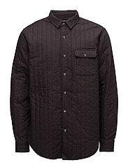Quilt Shirt Skals - OBSIDIAN