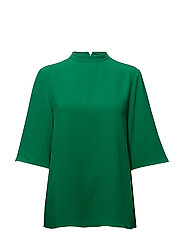 Plisse georgette Shelly - BRIGHT GREEN