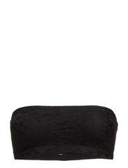 Luxury Lace Bandeau Bra - BLACK