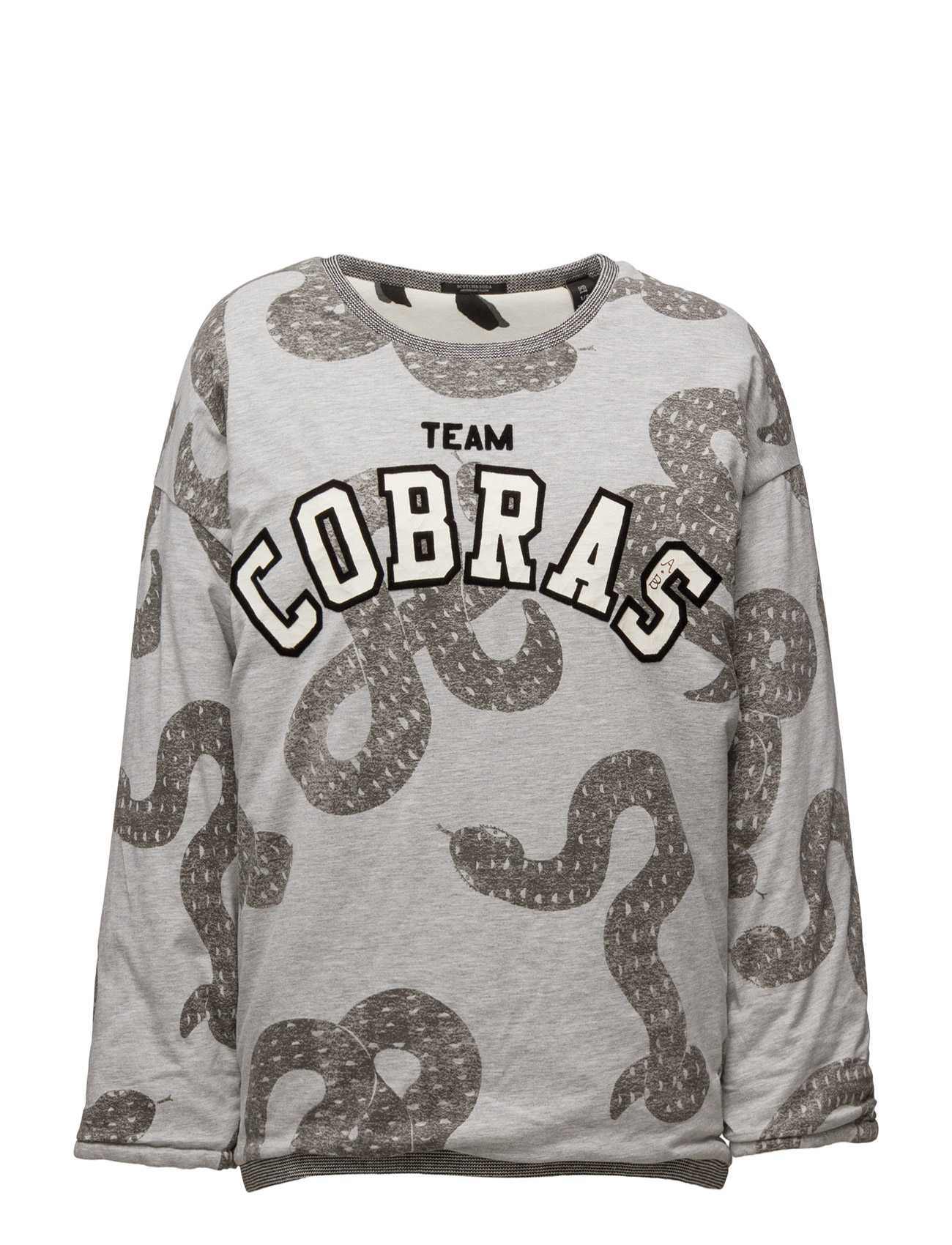 scotch & soda Reversible allover printed sweat på boozt.com dk