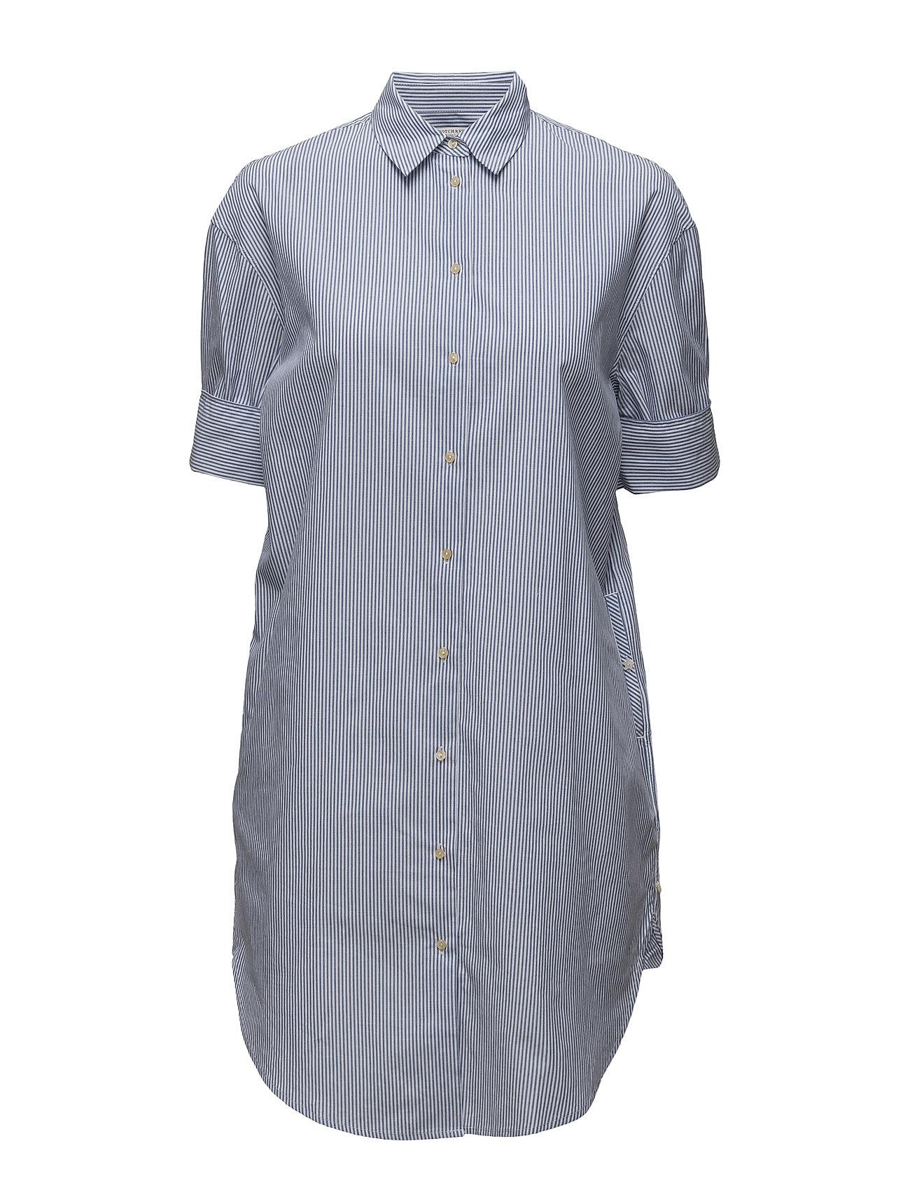 Clean Summer Longer Length Shirt Scotch & Soda Trøjer til Kvinder i Combo A