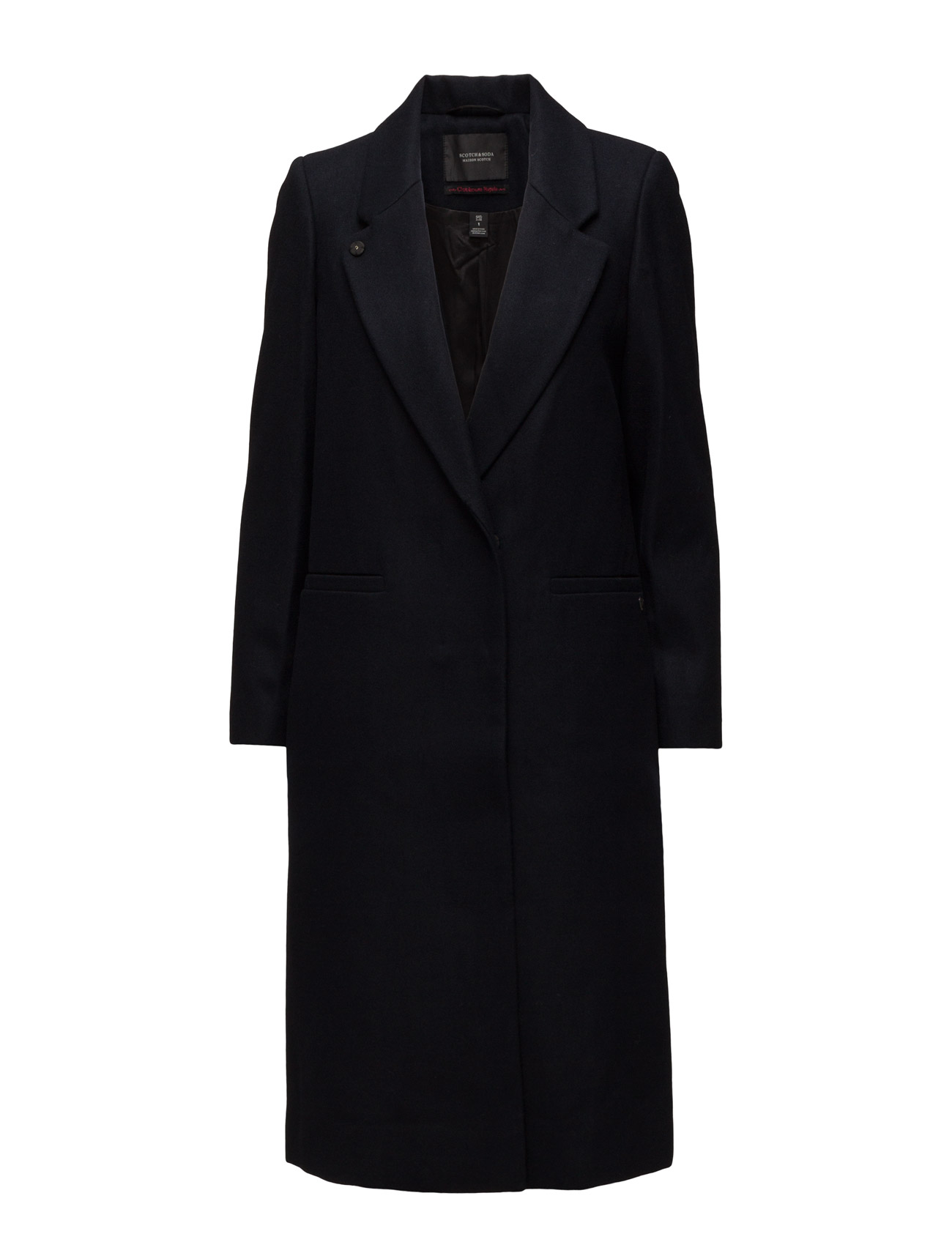 Longer Length Tailored Coat Maison Scotch Frakker til Kvinder i