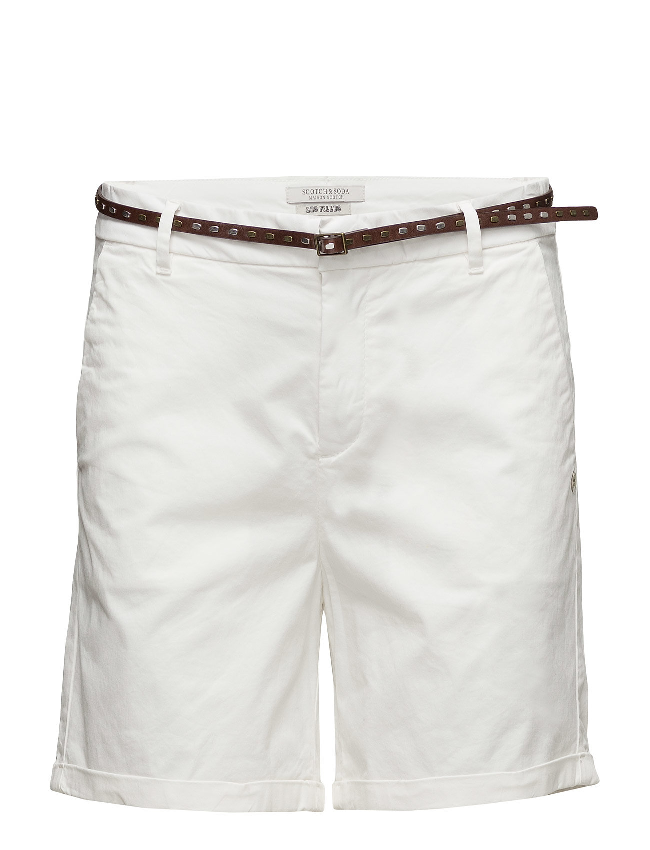 Chino Short In Medium Weight Stretch Pima Cotton Old With thumbnail