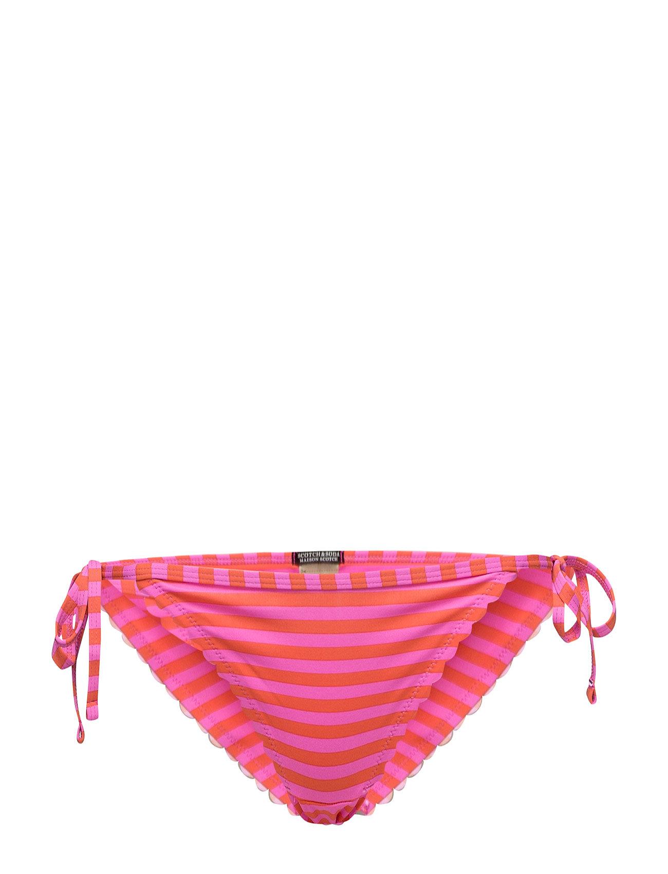 Bikini Bottom With Scalloped Or Embroidered Edges Scotch & Soda Badetøj til Kvinder i