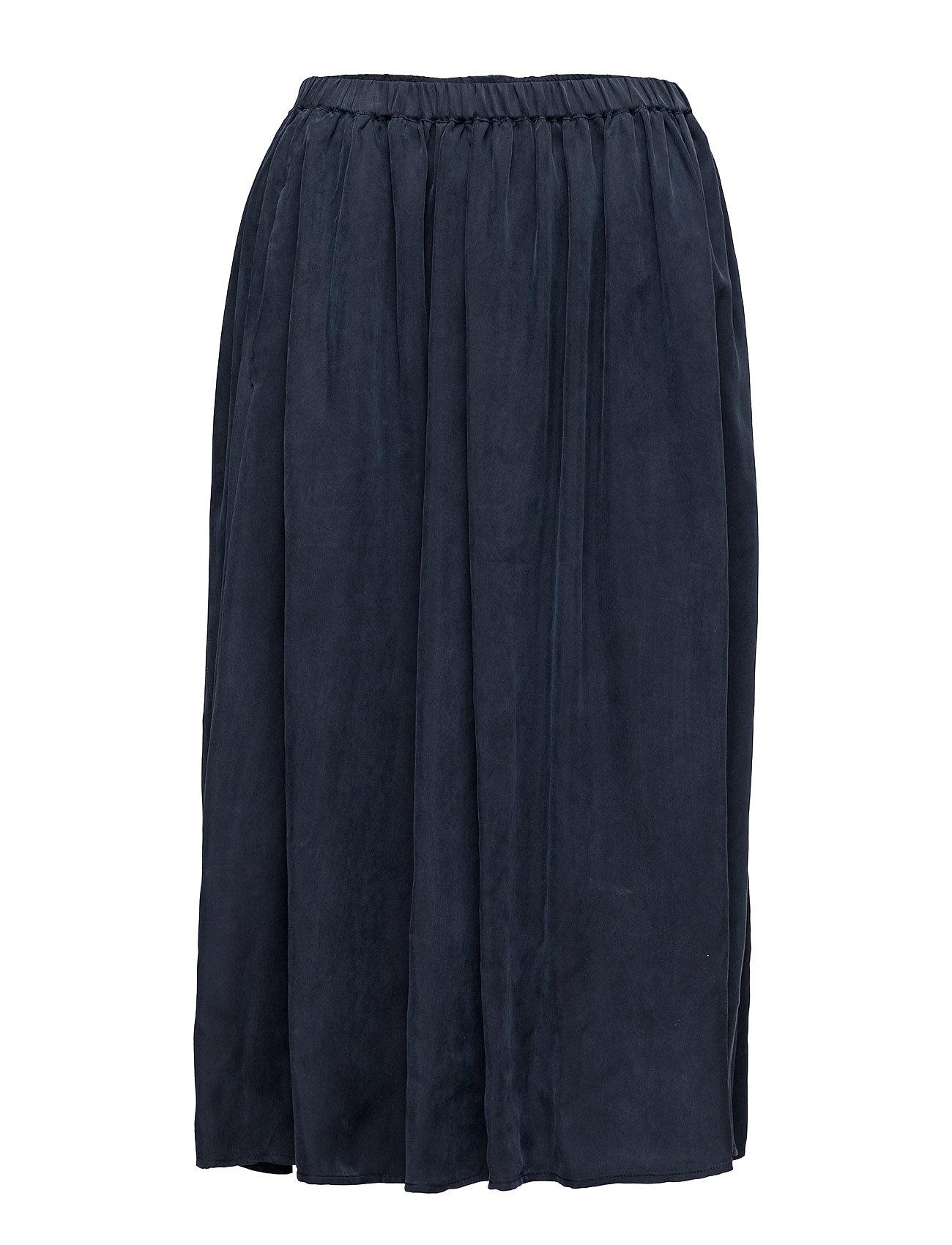 Longer Length Drapey Cupro Skirt Scotch & Soda Knælange & mellemlange til Damer i