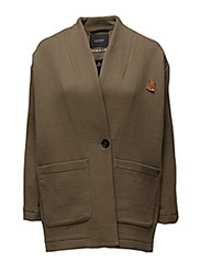 Relaxed fit blazer jacket in new texture - 15 ARMY