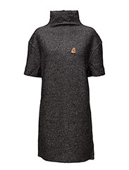Turtleneck sweater dress - 0B ANTRA MELANGE