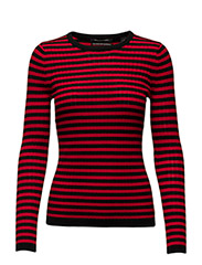 Long sleeve striped knit in rib quality - 18 COMBO B