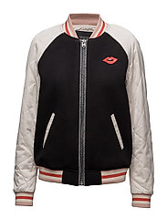 Bomber jacket with contrast sleeves - COMBO A