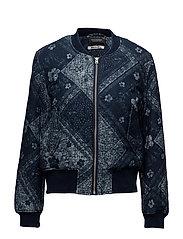 Bomber jacket in indigo quality - COMBO A