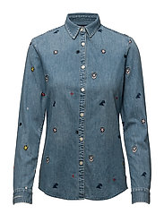 Allover embroidered shirt - COMBO A
